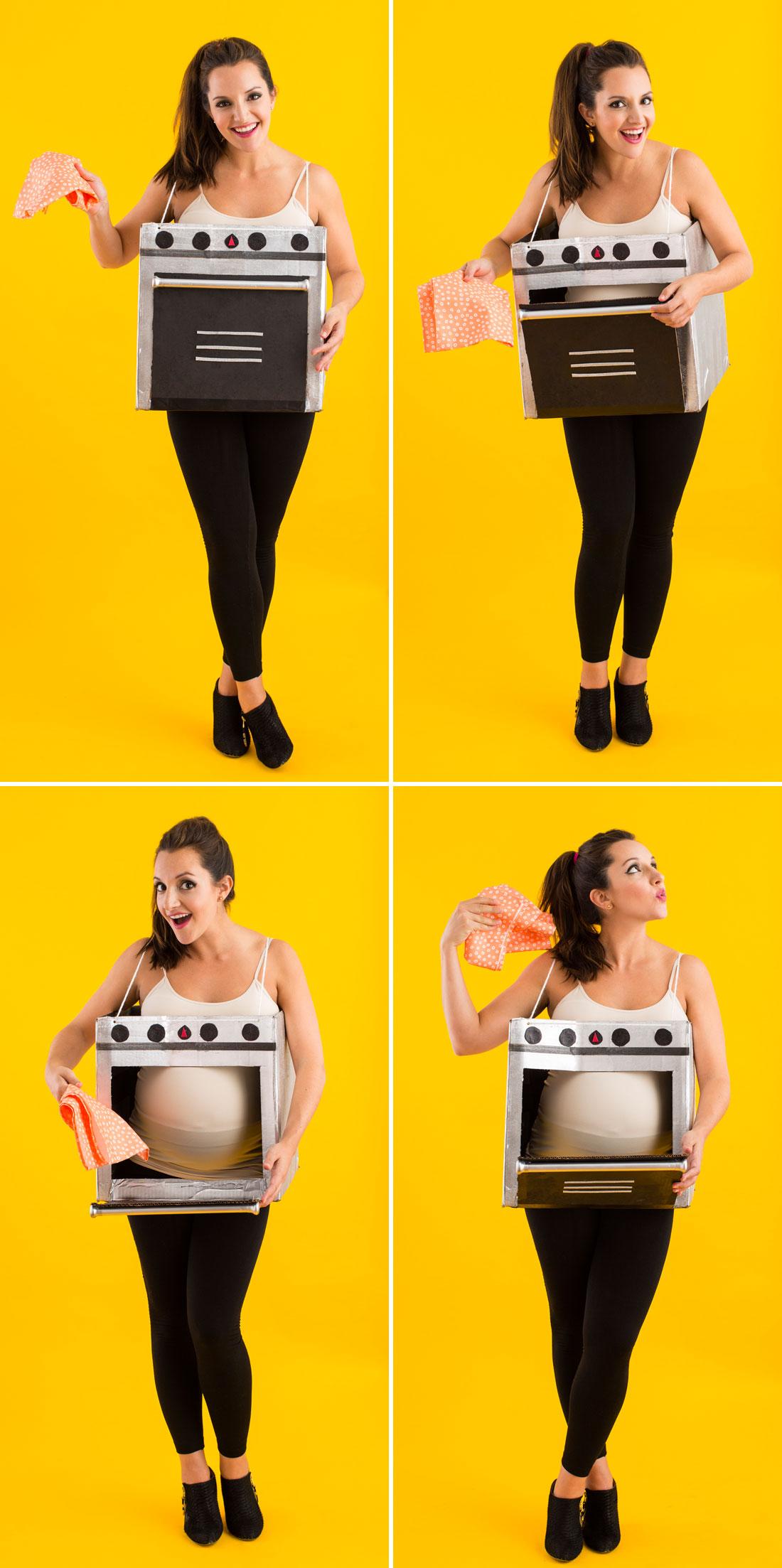 Костюм для беременной на Хэллоуин