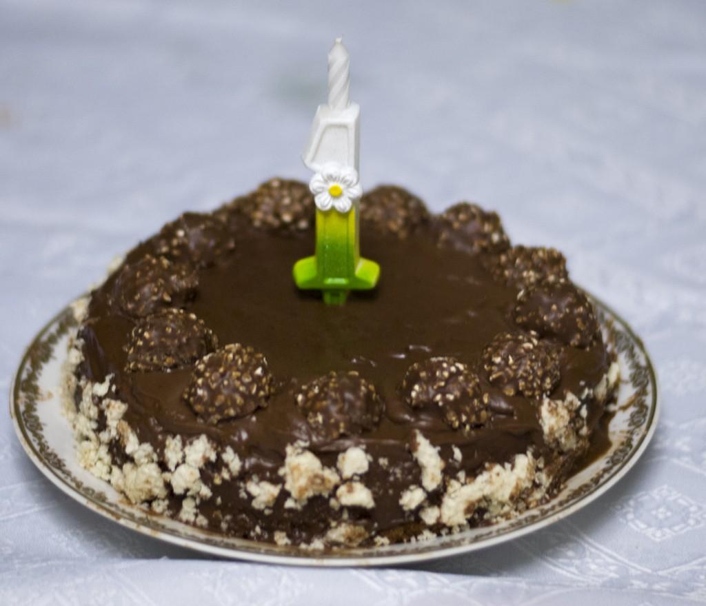 """Рецепт торта """"Ferrero Rocher"""""""