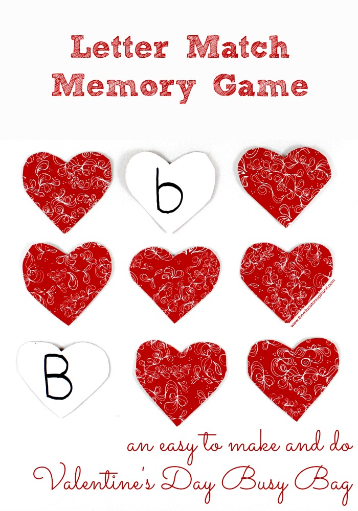Letter Match Memory Game