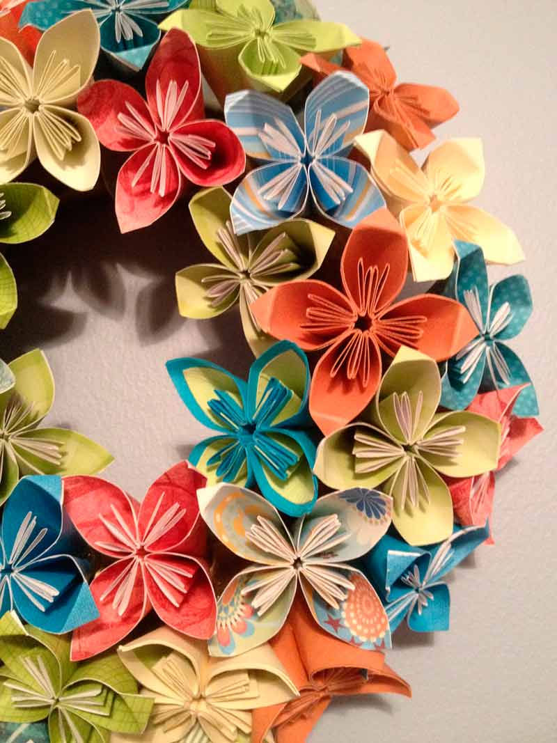 summer-blend--origamikusudama-paper-flower-wreath--1