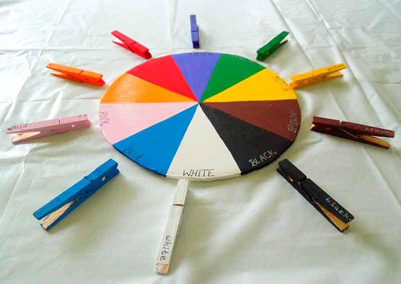 Цветовой круг или искусство смешения цветов