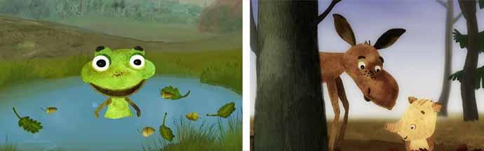 Осенние мультфильмы
