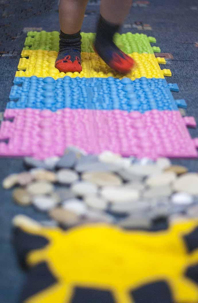 массажные коврики для ног для ребенка своими руками
