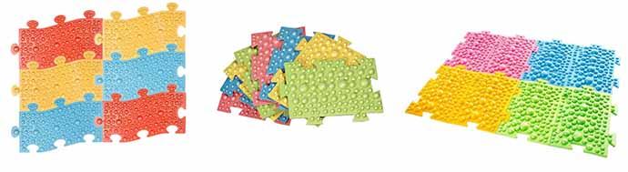 Массажные коврики для ног для ребенка из вспененного материала