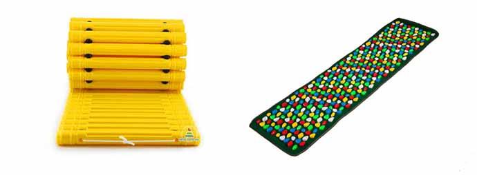 Пластмассовые массажные коврики для ног для ребенка