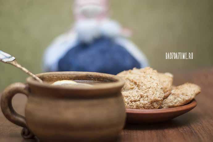 Рецепт овсяного печенья из хлопьев