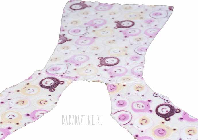 Как сшить халат для девочки (от 1,5 до 7 лет)?