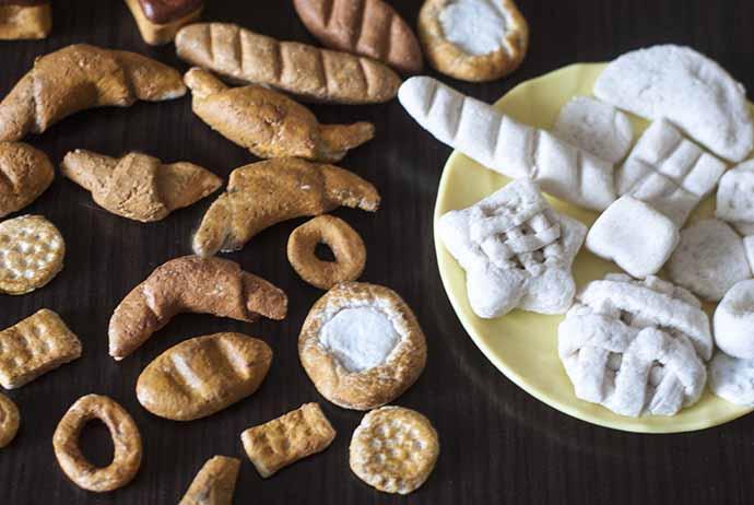 Поделки из соленого теста: хлеб и выпечка - каталог статей на 95