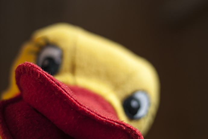 Кукла перчатка. История одной жизни