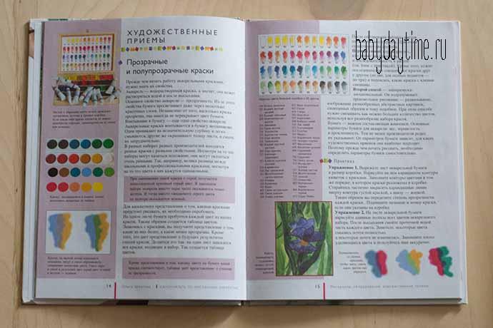 Акварель для детей - книга и первые шаги