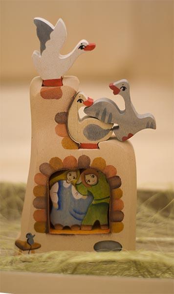 """Обзор детских игрушек: Деревянный пазл """"Гуси-лебеди. Печка"""""""