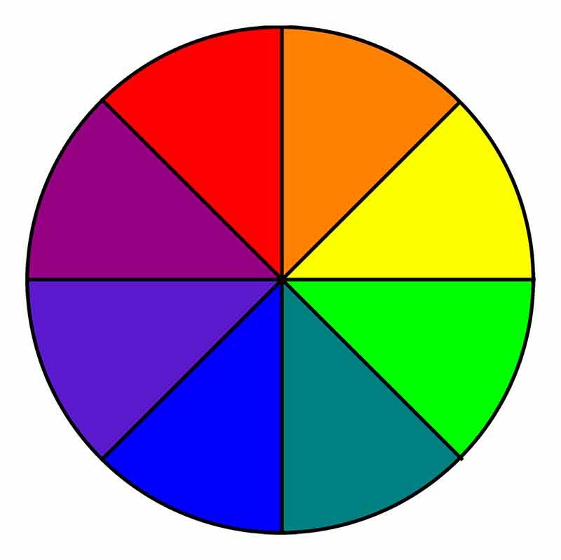 Картинка круга разных цветов