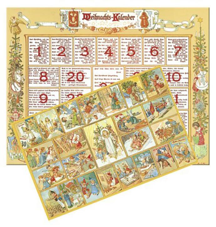 адвент календарь