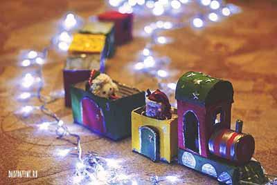 Адвент календарь Новогодний паровозик