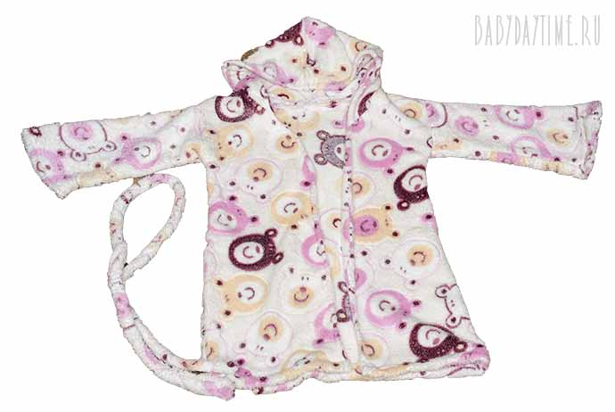 1-7 Как сшить халат для девочки (от 1,5 до 7 лет)?