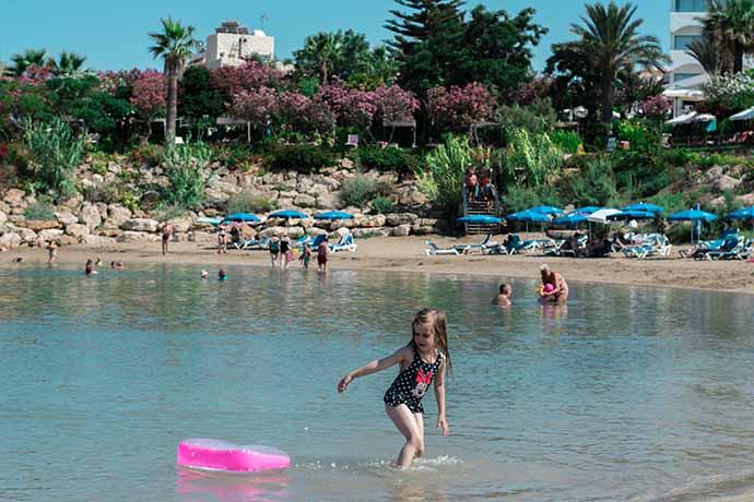 Отдых на Кипре с детьми. Пляжи Протараса и Айя-Напы