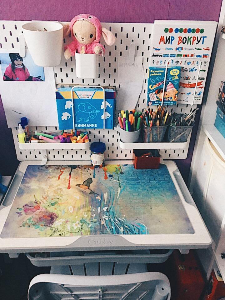 Как мы организовали детское рабочее место и ребенок стал творить
