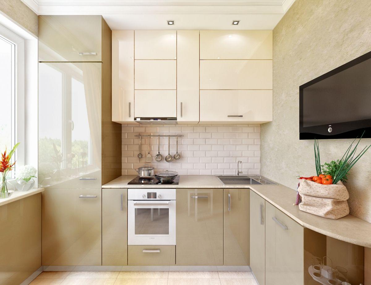 Топ-7 самых свежих идей для дизайна маленькой городской кухни